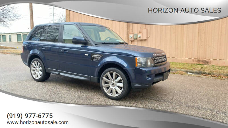 2013 Land Rover Range Rover Sport for sale at Horizon Auto Sales in Raleigh NC
