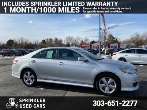 2010 Toyota Camry for sale at Sprinkler Used Cars in Longmont CO