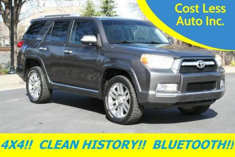 2010 Toyota 4Runner for sale at Cost Less Auto Inc. in Rocklin CA