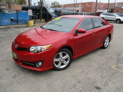 2012 Toyota Camry for sale at 5 Stars Auto Service and Sales in Chicago IL