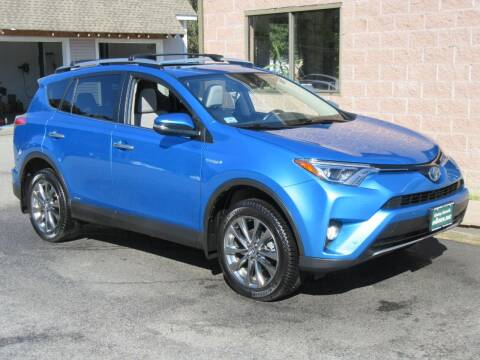 2018 Toyota RAV4 Hybrid for sale at Advantage Automobile Investments, Inc in Littleton MA