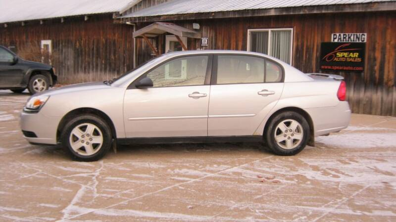 2005 Chevrolet Malibu for sale at Spear Auto Sales in Wadena MN