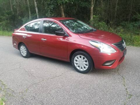 2016 Nissan Versa for sale at J & J Auto Brokers in Slidell LA