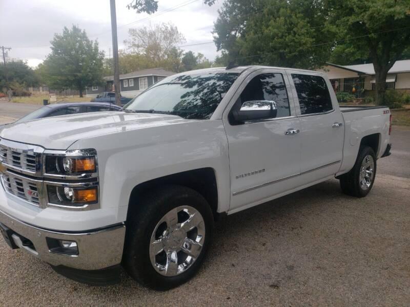 2015 Chevrolet Silverado 1500 for sale at HAYNES AUTO SALES in Weatherford TX