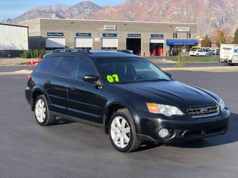 2007 Subaru Outback for sale at FRESH TREAD AUTO LLC in Springville UT