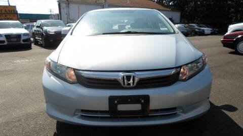 2012 Honda Civic for sale at QUALITY AUTO SALES OF NEW YORK in Medford NY