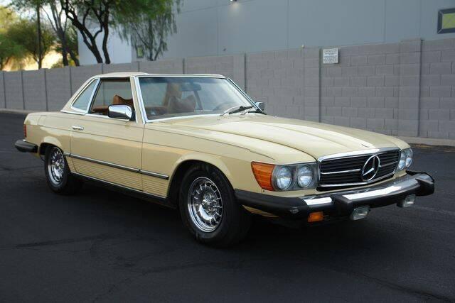 1978 Mercedes-Benz 450-Class for sale at Arizona Classic Car Sales in Phoenix AZ
