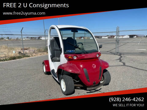 2002 GEM E2 for sale at FREE 2 U Consignments in Yuma AZ