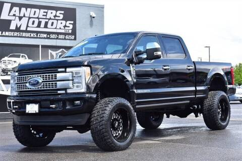 2018 Ford F-350 Super Duty for sale at Landers Motors in Gresham OR