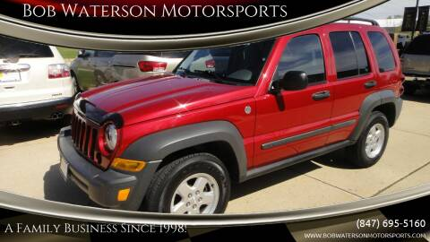 2006 Jeep Liberty for sale at Bob Waterson Motorsports in South Elgin IL