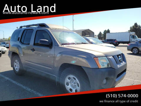 2006 Nissan Xterra for sale at Auto Land in Newark CA