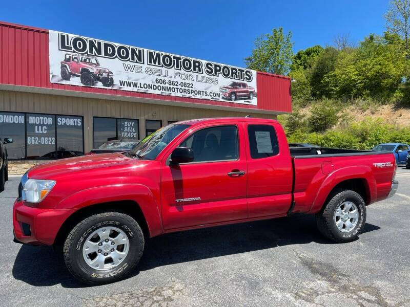 2012 Toyota Tacoma for sale at London Motor Sports, LLC in London KY