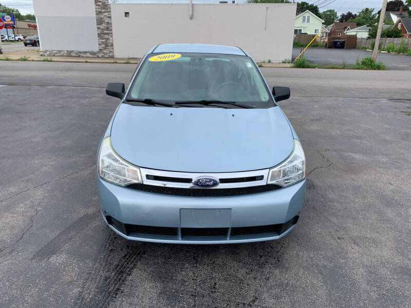 2009 Ford Focus for sale at L.A. Automotive Sales in Lackawanna NY