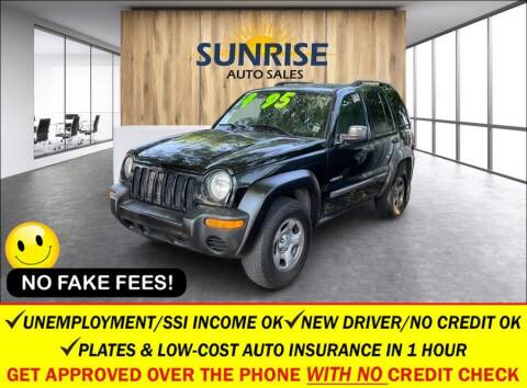 2004 Jeep Liberty for sale at AUTOFYND in Elmont NY