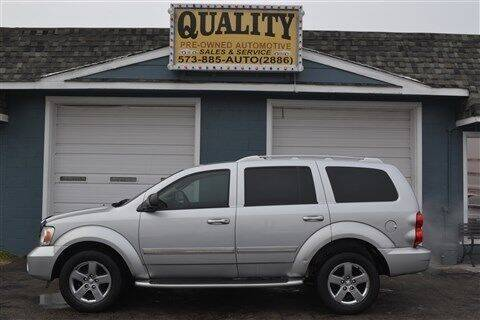 2008 Dodge Durango for sale at Quality Pre-Owned Automotive in Cuba MO