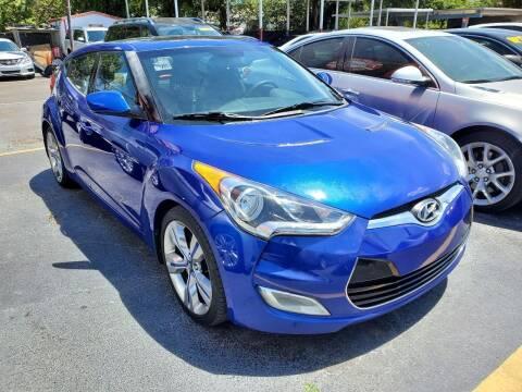 2012 Hyundai Veloster for sale at America Auto Wholesale Inc in Miami FL