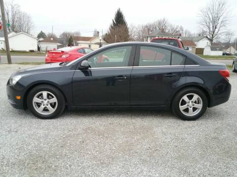 2014 Chevrolet Cruze for sale at MIKE'S CYCLE & AUTO in Connersville IN