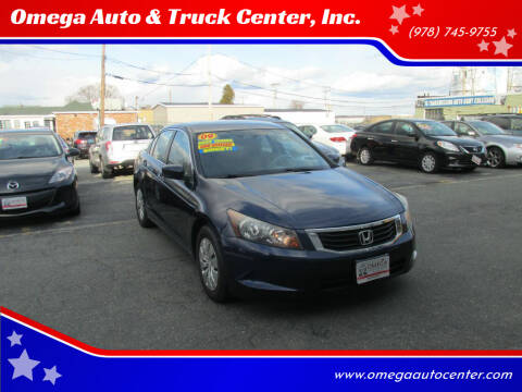2009 Honda Accord for sale at Omega Auto & Truck Center, Inc. in Salem MA