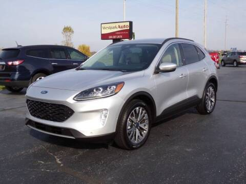 2020 Ford Escape for sale at Westpark Auto in Lagrange IN
