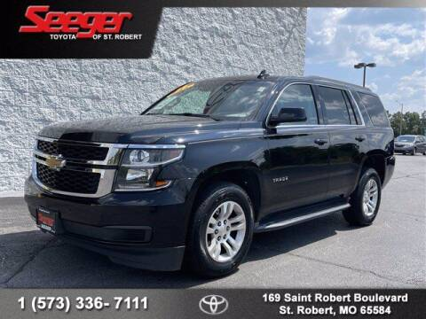 2016 Chevrolet Tahoe for sale at SEEGER TOYOTA OF ST ROBERT in Saint Robert MO