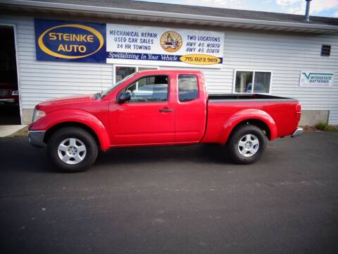 2007 Nissan Frontier for sale at STEINKE AUTO INC. - Steinke Auto Inc (South) in Clintonville WI