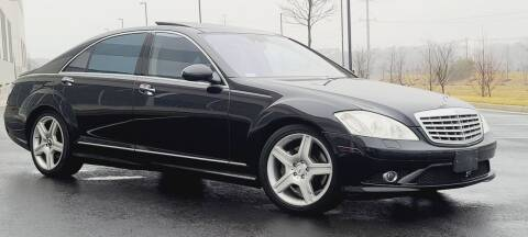 2007 Mercedes-Benz S-Class for sale at BOOST MOTORS LLC in Sterling VA
