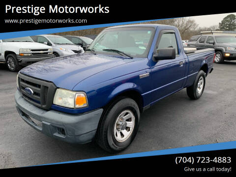 2007 Ford Ranger for sale at Prestige Motorworks in Concord NC