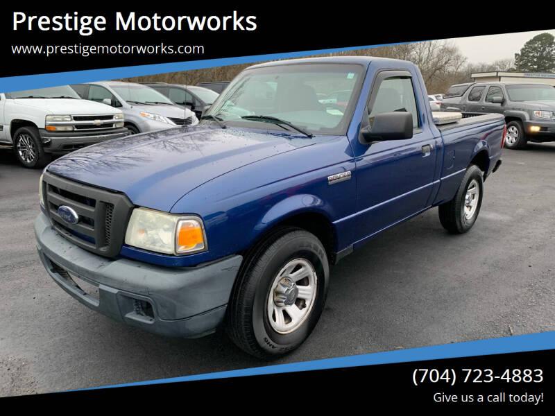2007 Ford Ranger for sale at Prestige Motorworks in Concord NC