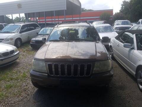 2001 Jeep Grand Cherokee for sale at Webb's Automotive Inc 11 in Morehead City NC