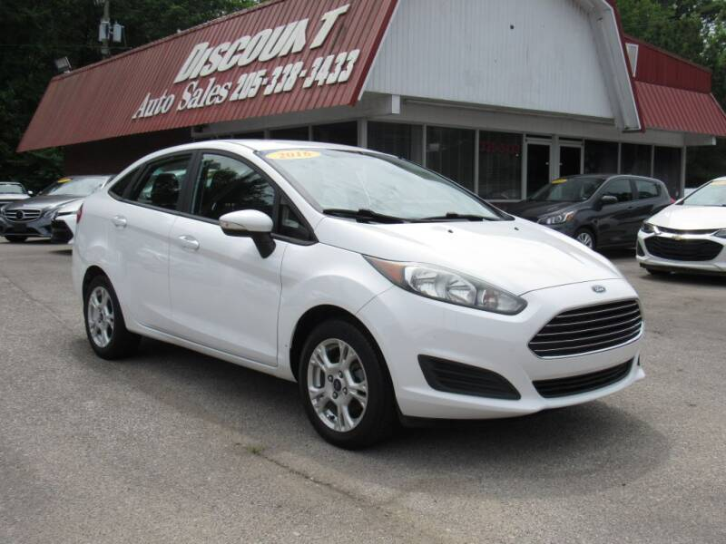 2016 Ford Fiesta for sale at Discount Auto Sales in Pell City AL