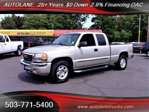 2007 GMC Sierra 1500 Classic for sale at Auto Lane in Portland OR