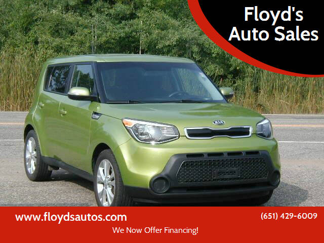 2014 Kia Soul for sale at Floyd's Auto Sales in Stillwater MN