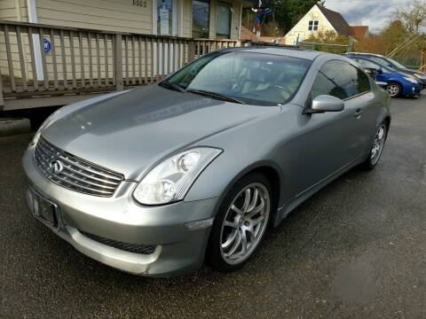 2007 Infiniti G35 for sale at Life Auto Sales in Tacoma WA