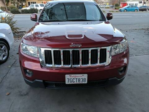 2012 Jeep Grand Cherokee for sale at Auto City in Redwood City CA