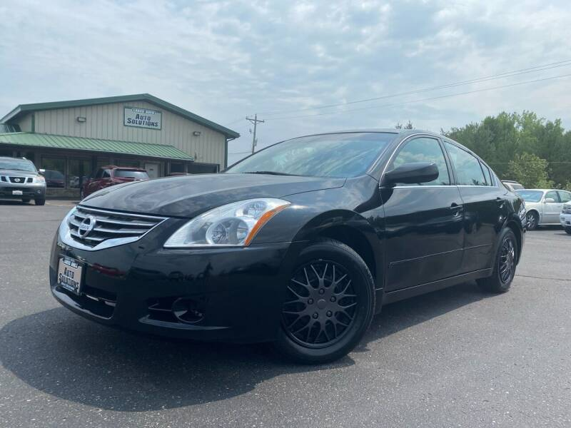 2011 Nissan Altima for sale at Lakes Area Auto Solutions in Baxter MN