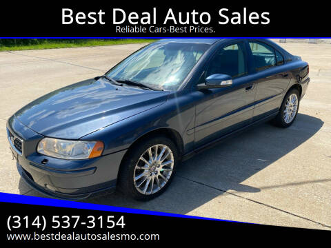 2007 Volvo S60 for sale at Best Deal Auto Sales in Saint Charles MO
