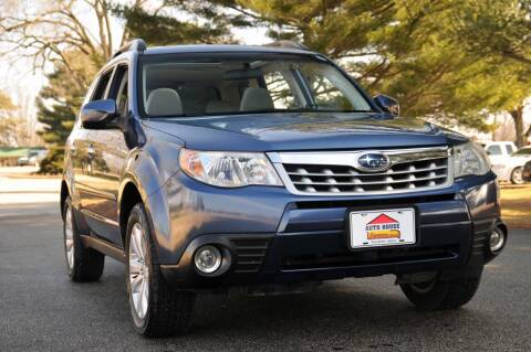 2013 Subaru Forester for sale at Auto House Superstore in Terre Haute IN