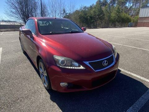 2012 Lexus IS 250C for sale at CU Carfinders in Norcross GA