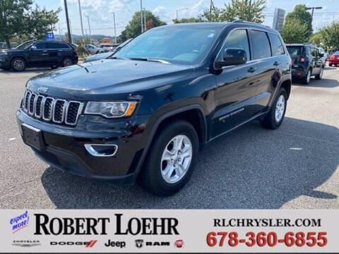 2017 Jeep Grand Cherokee for sale at Robert Loehr Chrysler Dodge Jeep Ram in Cartersville GA