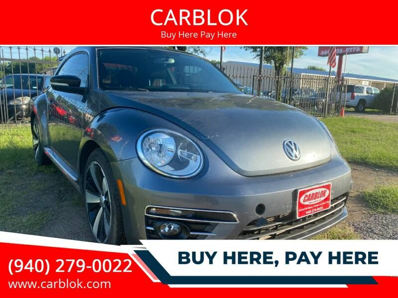 2014 Volkswagen Beetle for sale at CARBLOK in Lewisville TX