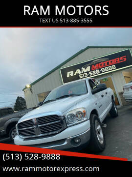 2007 Dodge Ram Pickup 1500 for sale at RAM MOTORS in Cincinnati OH