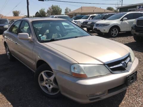 2002 Acura TL for sale at 3-B Auto Sales in Aurora CO