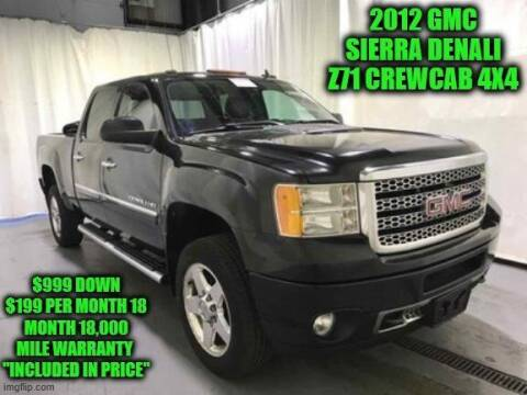 2012 GMC Sierra 2500HD for sale at D&D Auto Sales, LLC in Rowley MA