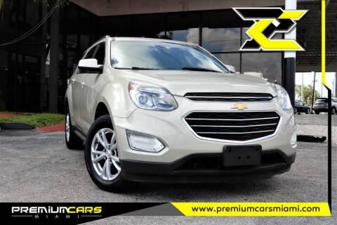 2016 Chevrolet Equinox for sale at Premium Cars of Miami in Miami FL