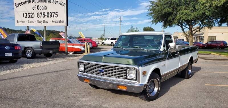 1972 Chevrolet SUPER LONG BED for sale at Executive Automotive Service of Ocala in Ocala FL