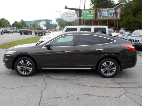 2014 Honda Crosstour for sale at EAST MAIN AUTO SALES in Sylva NC
