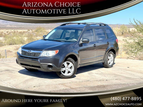 2010 Subaru Forester for sale at Arizona Choice Automotive LLC in Mesa AZ