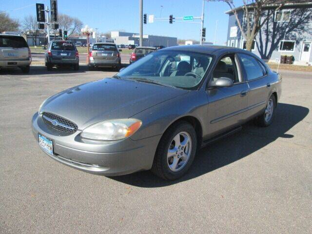 2003 Ford Taurus for sale at SCHULTZ MOTORS in Fairmont MN