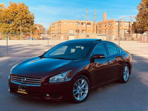 2009 Nissan Maxima for sale at ARCH AUTO SALES in St. Louis MO