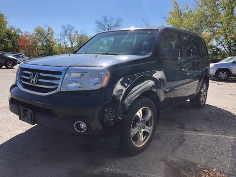 2014 Honda Pilot for sale at Top Line Import of Methuen in Methuen MA
